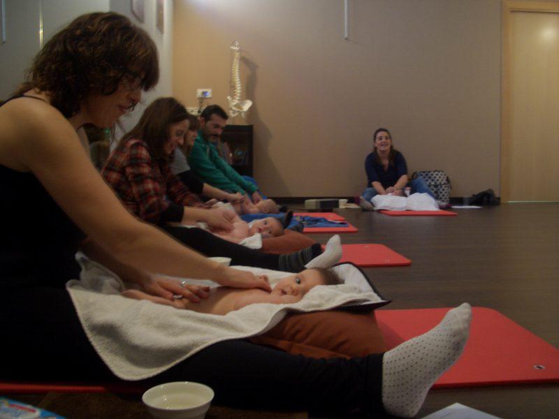 Massatge de nadons Temps per Tu